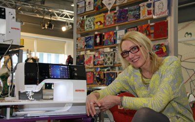 Weg met oubollige imago; Inge maakt naaien hightech